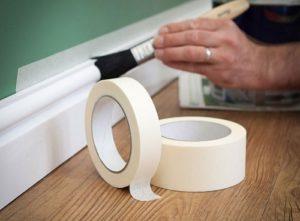 ứng dụng băng keo giấy trong ngành sơn