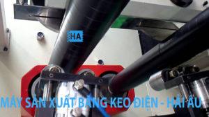 Máy sản xuất băng keo điện
