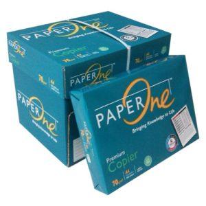 1 Thùng 5 Ream Giấy A4 Paper One 70gsm