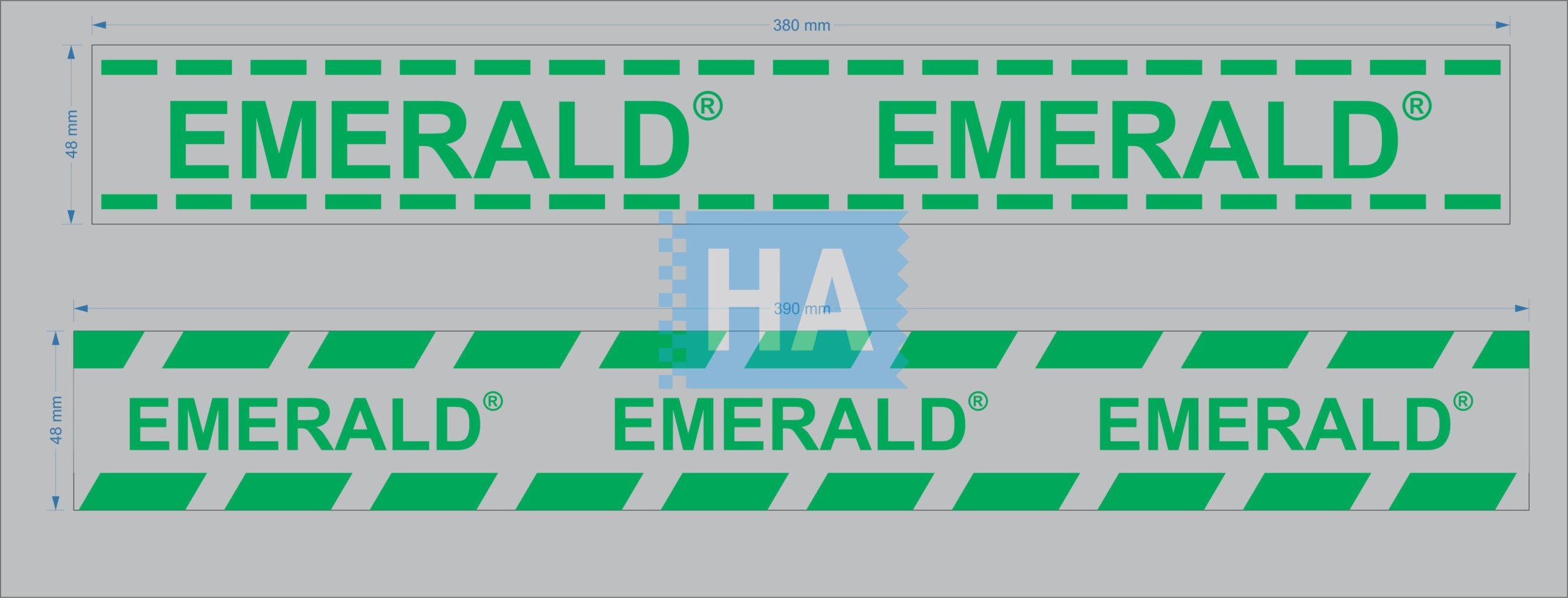 Mẫu in băng keo logo